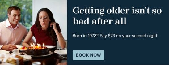 Celebrate your Birth Year and Save
