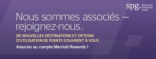 ASSOCIER AU COMPTE MARRIOTT REWARDS