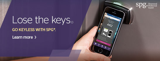 SPG® Mobile Check-In